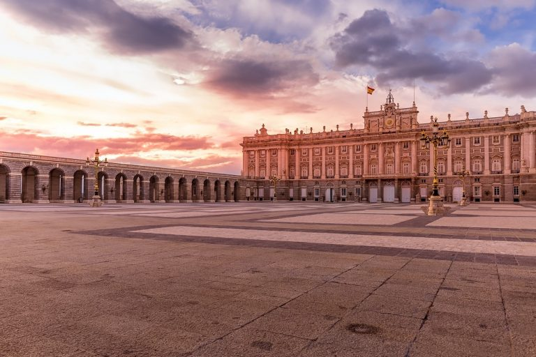 royal, palace, madrid